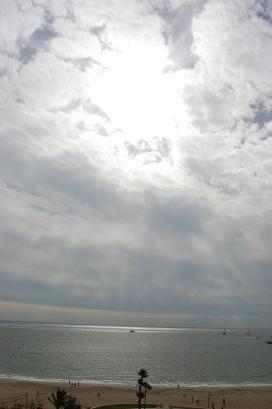 It was a bit cloudy but still pretty!
