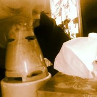 These are two of my best friends these days - inhalator and tissues.