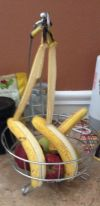 "I guess it was a bit too warm for these bananas - they ""peeled"" themselves :)"