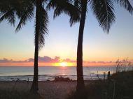 spectacular sun rise