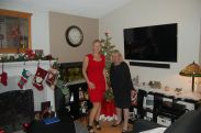 First Christmas I spend w/ mom in over eight years.