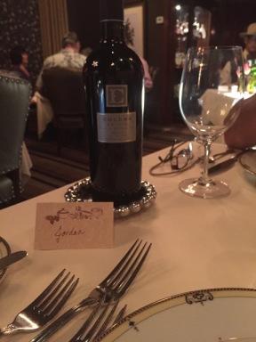 Und da ist der Wein wieder :)