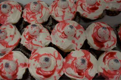 Augen Cupcakes.... iiih!