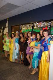 quite few princesses