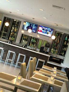 Der Restaurant/Bar Bereich