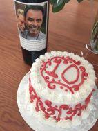 cake and wine :)