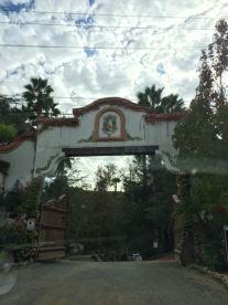 Entrance to Las Lomas Ranch