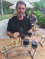 Wine tasting can begin