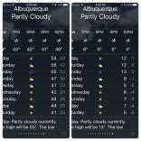 Es ist kalt in Albuquerque
