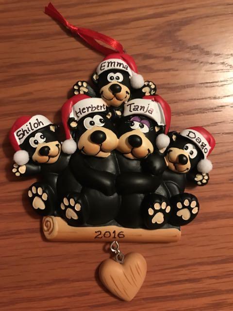 new family ornament