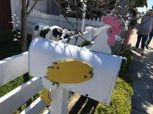 Mail box on Balboa Island