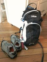 hiking gear is ready