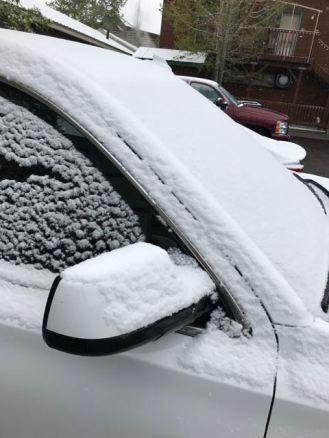 Heute waren wir für den Schneebesen dankbar, der im Leihwagen lag :)