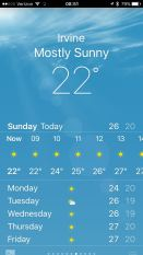 already pretty warm in the sun