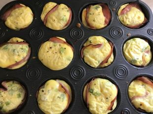 Ham-Egg-Muffins - great protein snack