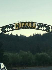Last stop - Francis Fort Coppola Vinyard