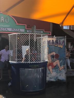Auf dem Strassenfest in Balboa gesehen