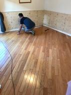 Master Bedroom - old flooring