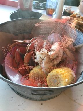 Crab bucket - sooo good